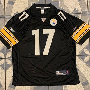 Reebok NFL Authentic Steelers Mike Wallace Jersey
